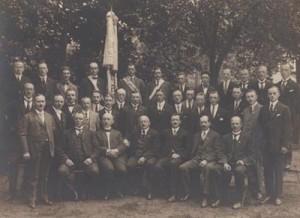 Bild 4: 60-Jahrfeier 1924 des MGV Borgfeld
