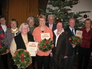 Ehrungen Weihnachtsfeier 2007