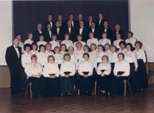 Bild 21: Chorgemeinschaft Borgfeld 1989