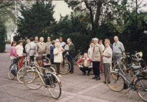 Bild 20: Start zur Himmelfahrt-Radtour 1986