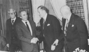 Bild 16: Vorstandswechsel 1984