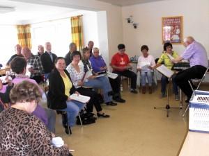 Stimmbildungsseminar im Mai 2013, Bremerhaven